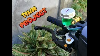 INSTALLING NISSIN LEVER | SNIPER 150 | THAI LOOK PROJECT