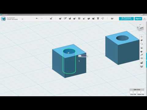 123D Design Fill Holes In Solids Part 2 Drafting