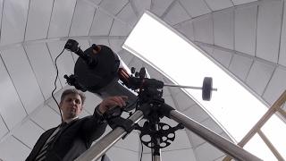 Відтепер житомирські учні вивчатимуть планети та сузір'я в унікальній шкільній обсерваторії