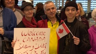 WATCH as Syrian refugees in limbo finally arrive in Toronto