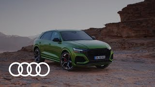YouTube Video Q-81stdgpBU for Product Audi Q8, SQ8, RS Q8 Crossover SUV by Company Audi in Industry Cars