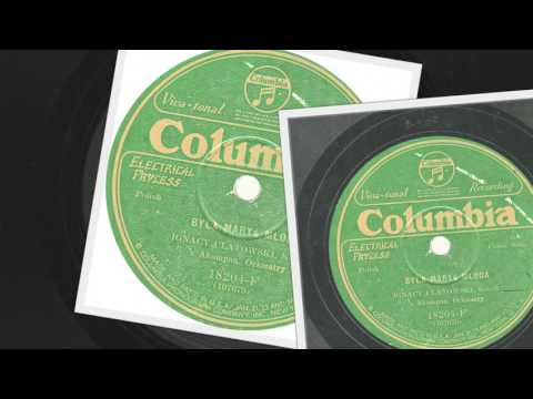 Polish 78rpm recordings, Columbia 18204-F. Wróbelki – comic songs