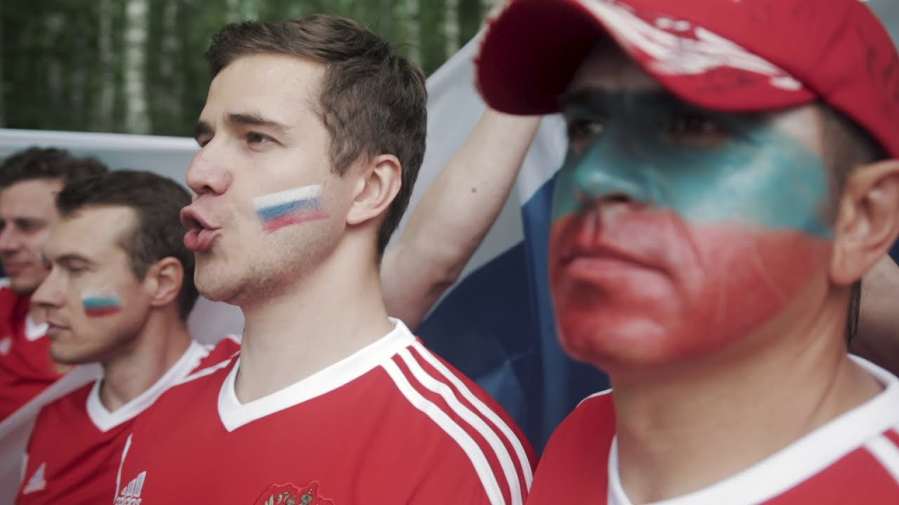 Российские болельщики ответили исландцам