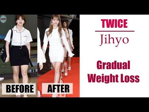 jihyo svorio netekimas