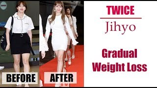 Twice Jihyo Weight Loss Story 2015  2018