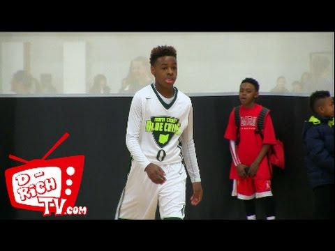 LeBron James Jr. Shows Crazy VISION and HANDLES! | North Coast Blue Chips #NCBC