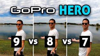 GoPro HERO 9 vs 8 vs 7!