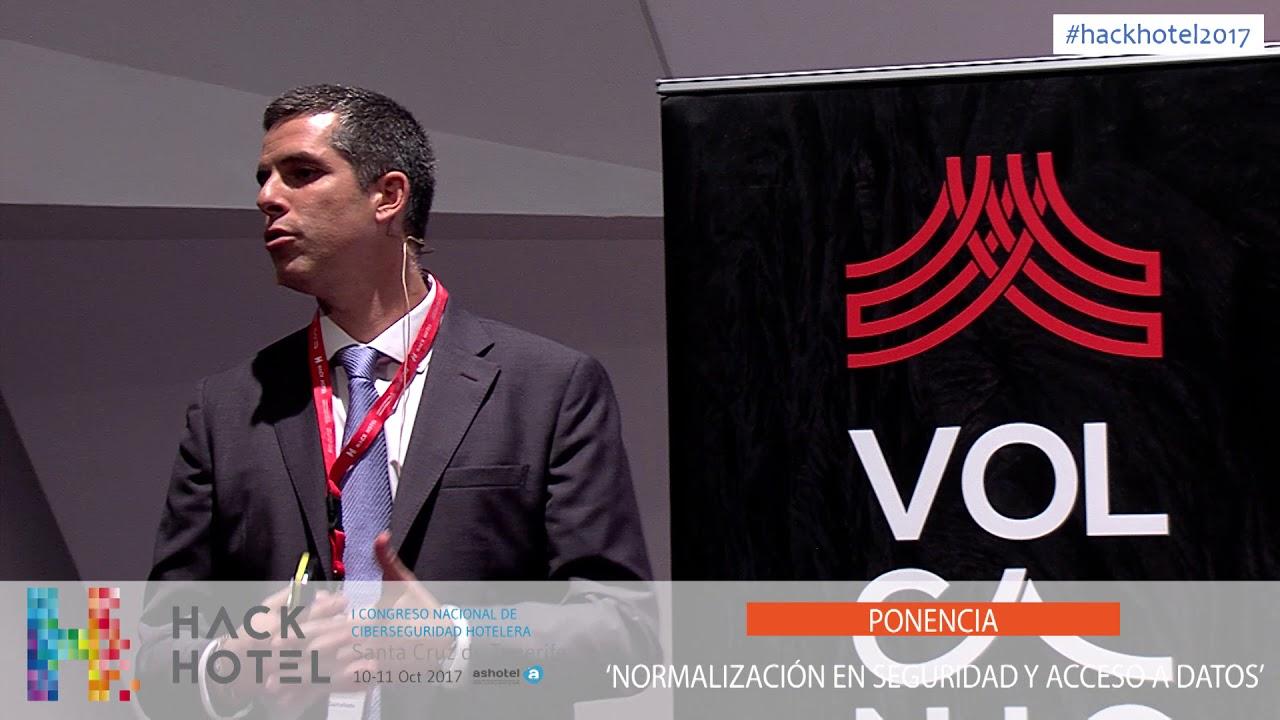 1/10/2017 – 13:15 h. Ponencia 'Normalización en seguridad y acceso a datos'