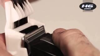 """Насадка для полировки, """"HG polishen"""", пластиковая. от компании Профессиональный парикмахерский магазин Штучка. - видео"""