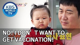No! I don't want to get vaccination! [The Return of Superman/2020.02.02]
