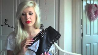 SHOE UNBOXING // Tribeca Shoes Jeffrey Campbell Spiked Lita Dupe