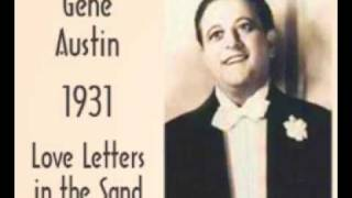 Love letters in the sand - original version (1931)