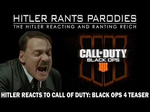Hitler reacts to Call of Duty: Black Ops 4 Teaser