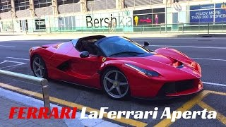 $1.8m Ferrari LaFerrari APERTA! - Start Up And Accelerations