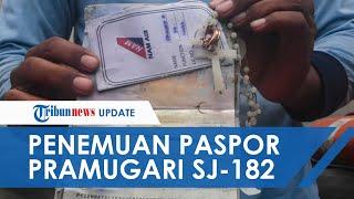 Penampakan Paspor dan Kalung Salib Milik Pramugari Sriwijaya Air SJ-182 yang Ditemukan Kopaska