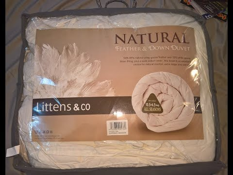 , title : 'White Goose Feather And Down Duvet Quilt Review