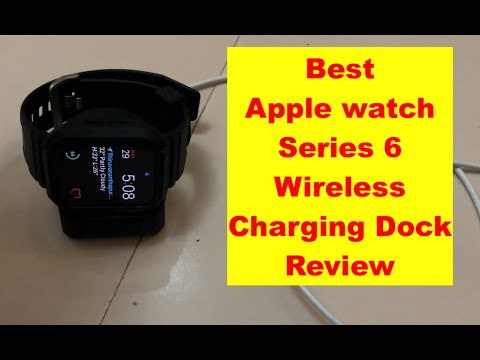 Apple watch series 6 Charging Dock Unboxing and Review | Best charger for apple watch series 6,5,4