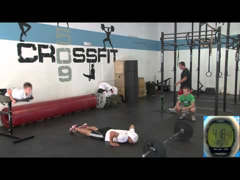 Beginner Crossfit Workout with Dave Erickson in Spokane, Washington