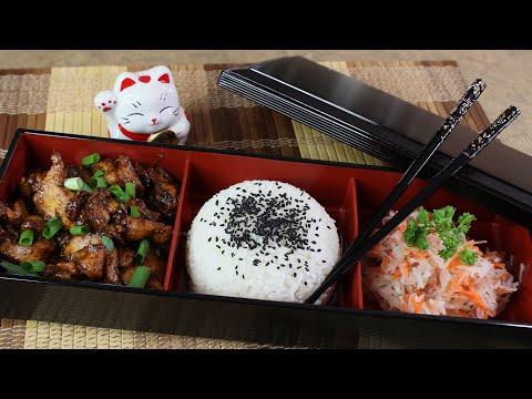 Chicken Teriyaki in Bento box! My recipe for a delicious chicken, full of flavor!