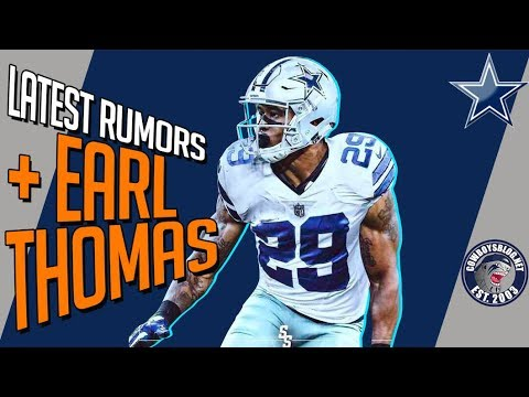 Latest Dallas Cowboys NFL Draft Rumors and Earl Thomas Plan
