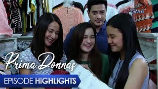 Aired (January 17, 2020): Tanging pangarap lamang ni Donna Marie ang magkaroon ng kumpletong pamilya ngunit tila naging mailap ang kapalaran sa kanya.   Watch episodes of 'Prima Donnas' weekdays at 3:25 PM on GMA Afternoon Prime, starring Jillian Ward, Althea Ablan, and Sofia Pablo. Also in the cast are Aiko Melendez, Katrina Halili, Wendell Ramos, Chanda Romero, Benjie Paras, Elijah Alejo, Will Ashley, and Vince Crisostomo. #PrimaDonnas #PrimaDonnasEpisodeHighlights  -------------- Subscribe to the GMA Network channel! - http://goo.gl/oYE4Dn  To our #KapusoAbroad, you can watch the latest episodes on GMA Pinoy TV! For more information, visit http://www.gmapinoytv.com   Visit the GMA Network Portal!  http://www.gmanetwork.com   Connect with us on: Facebook: http://www.facebook.com/GMANetwork Twitter: https://twitter.com/GMANetwork Instagram: http://instagram.com/GMANetwork