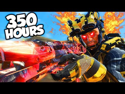 This Is What 350 Hours Of Black Ops 4 Experience Looks Like..