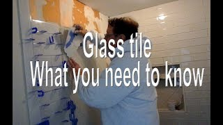 🤔 Glass tile what you need to know before you install it.