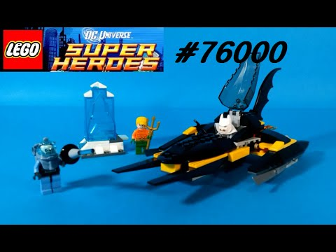 Vidéo LEGO DC Comics Super Heroes 76000 : Arctic Batman contre Mr Freeze : Aquaman dans la glace