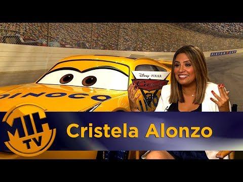 Cristela Alonzo Cars 3 Interview