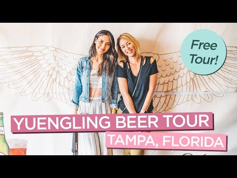 Free Yeungling Beer Tour in Tampa, Florida with Free Beer Samples!
