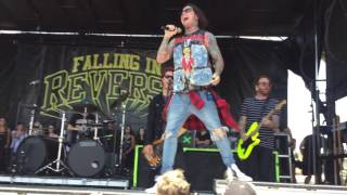 "FALLING IN REVERSE - ""ROLLING STONE"" LIVE (WARPED TOUR 2016)"