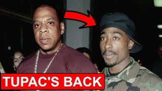 Tupac Spotted Coming Out Of Hiding After 22 Years...