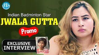 Badminton Star Jwala Gutta Interview Promo || Exclusive interview