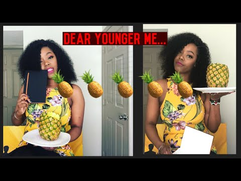 """ADVICE TO DEAR YOUNGER ME AS I LEARN HOW TO EAT PINEAPPLE THE """"RIGHT WAY"""""""