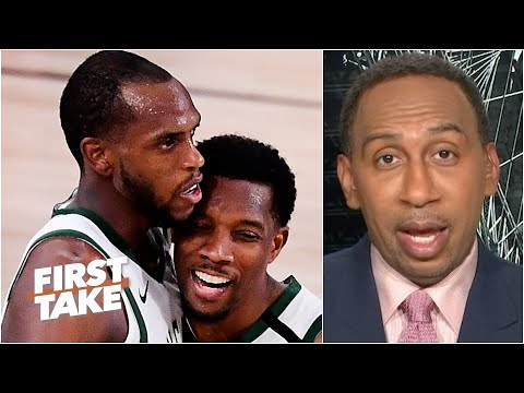 Stephen A. reacts to the Bucks winning Game 4 vs. the Heat without Giannis | First Take