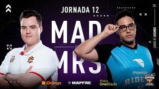 MAD Lions E.C. VS Movistar Riders | Jornada 12 | Temporada 2019 Verano