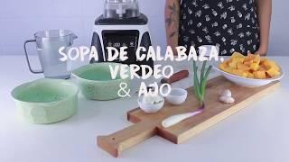 Sopa de Calabaza en TurboBlender