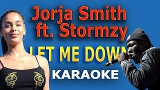 Jorja Smith - Let Me Down ft Stormzy LYRICS Karaoke