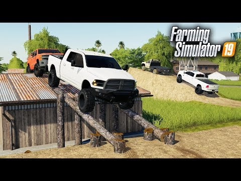 FS19- BUILDING A TRUCK OFF-ROAD PARK! ADDING ON TO THE TRUCK DEALERSHIP