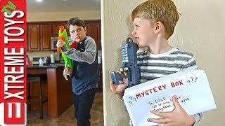 Sneak Attack Squad Training Part 2! Mystery Box Nerf Battle