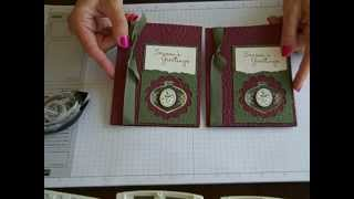 Simply Simple FLASH CARD Elegant Ornament By Connie Stewart