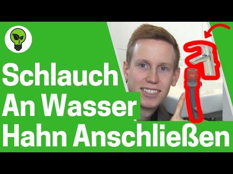 Gartenschlauch an Wasserhahn anschließen ✅ TOP ANLEITUNG: Schlauch Anschluss durch Gardena Adapter!!