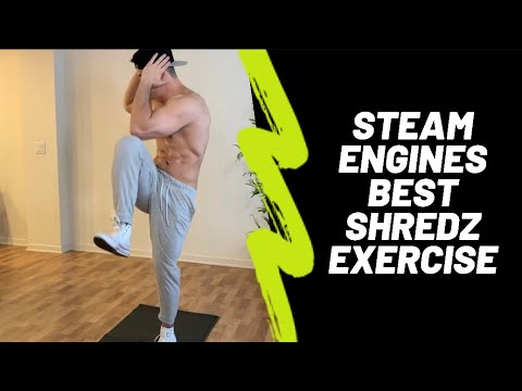Steam Engines | Best Core Home Workout Exercise - Andrew Walsh Fitness