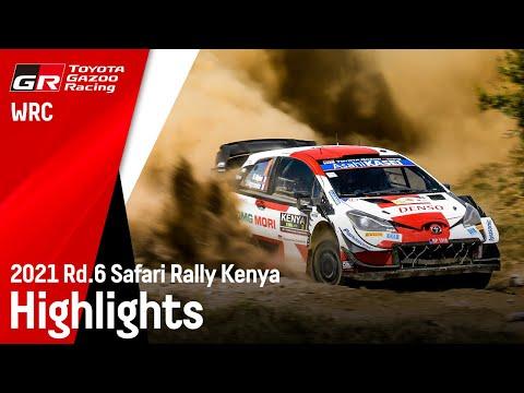 1-2フィニッシュのGazooRacing ヤリスWRC WRC第6戦ラリー・ケニアのハイライト動画