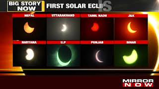 India witnesses Ring of fire annular solar eclipse 2020, deepest in century - Download this Video in MP3, M4A, WEBM, MP4, 3GP