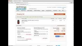 HealthDesigns $5 OFF - Code: 13060047 (iHerb Vitacost)