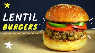 Lentil Patties (for Easy Lentil Burgers)