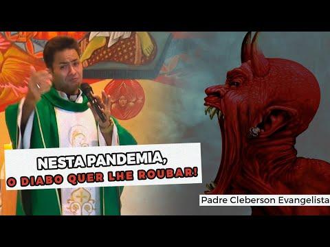 NESTA PANDEMIA, O DIABO QUER LHE ROUBAR!
