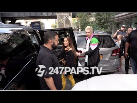 Ariana Grande and Pete Davidson Head to VMA's Rehearsal in NYC