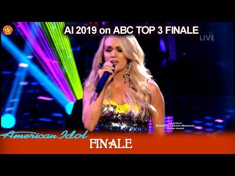 """Carrie Underwood sings hit single """"Southbound"""" Guest Performance    American Idol 2019 Finale"""